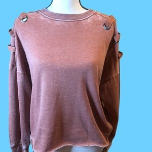 Ocean Drive NWT Cropped sweatshirt size small